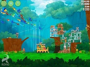 Angry Birds Rio Android Game