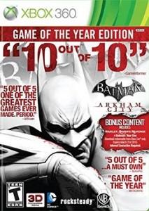 Batman Arkham City Xbox 360 game