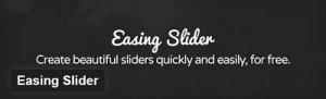 Easing Slider Plugin For WordPress