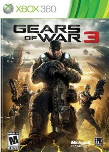 Gears Of War 3 Xbox 360 Action game