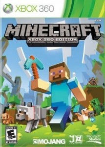 Minecraft Xbox 360 Action game