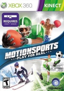 MotionSports Xbox 360 Sport game