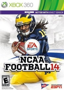 NCAA Football 14 Xbox 360 game