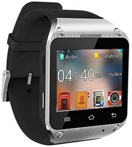 Spice Dual Sim Android Wear Watch