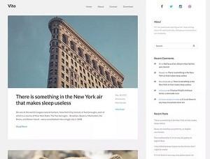 Vito free WordPress theme