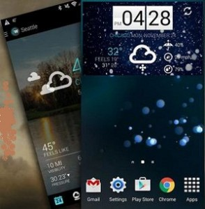 1Weather app for Android