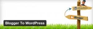 Blogger to WordPress plugin for blog
