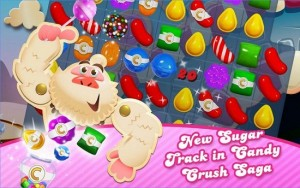 Candy Crush Saga Android game for tablet