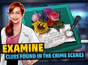Criminal Case Android game for tablet