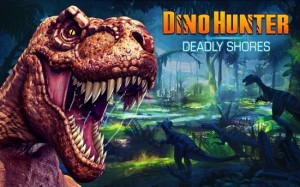 Dino Hunter Android game for tablet