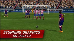 FIFA 15 Ultimate Team Android game for tablet