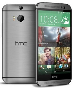 HTC One M8 Android smartphone