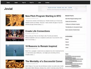 Jovial magazine WordPress theme