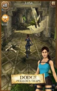 Lara Croft Android game for tablet