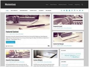 Momentous Lite magazine WordPress theme