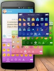 Popular Android apps for Emoji keyboard