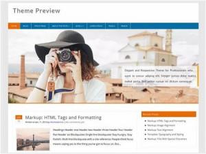 Profound magazine WordPress theme
