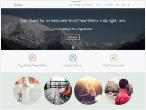 Quest magazine WordPress theme