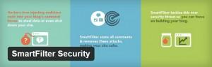 Smart filter security plugin for WordPress blog