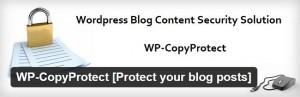 WP Copy Protect plugin for WordPress
