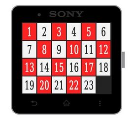 15 Puzzle game for android wear