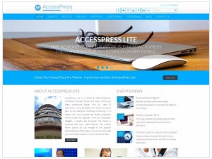 AccessPress Lite WordPress theme for Photography