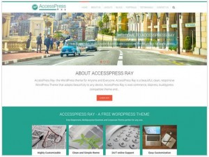 AccessPress Ray WordPress Corporate Themes