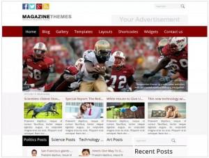 Best Magazine theme for WordPress
