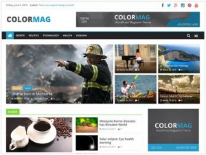 ColorMag WordPress themes for Business