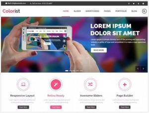 Colorist WordPress Corporate Themes
