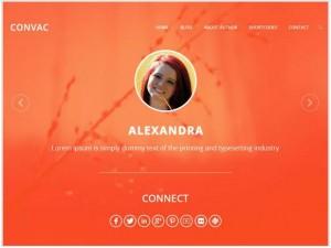 Convac Lite WordPress theme for Photography