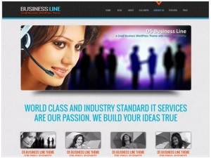 D5 Business Line WordPress themes for small business