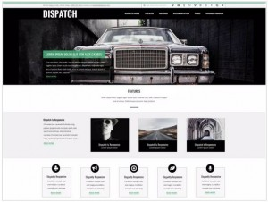 Dispatch WordPress Corporate themes