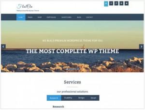 FlatOn WordPress Corporate themes