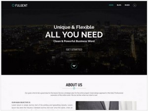 Fulgent WordPress themes for Business