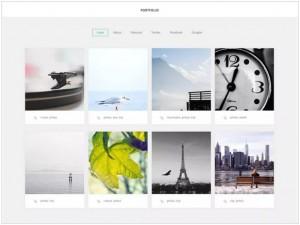 GK Portfolio theme for WordPress