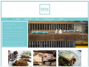 Greek Restaurant theme for WordPress