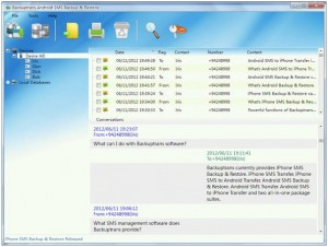 How to tansfer SMS from android to PC