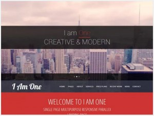 I Am One WordPress themes for Photography