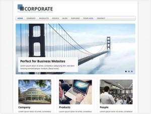 MH Corporate WordPress theme