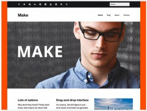 Make WordPress themes for Photography