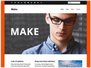 Make WordPress themes for Photography