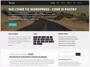 Newsted WordPress news theme