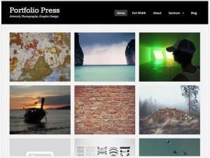 Portfolio Press theme for WordPress