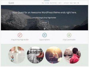 Quest WordPress themes for Photography