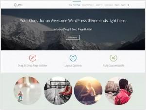 Quest WordPress themes for Portfolio