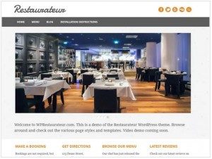 Restaurateur theme for WordPress