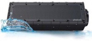 Rugged water resistant bluetooth speakers