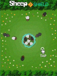 Sheep Shield android wear game