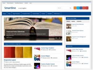 Smartline lite news theme for WordPress